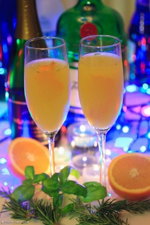 Killer Mimosa champagne cocktail