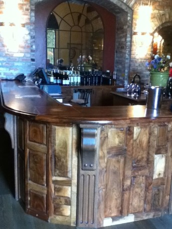 Brassfield Estate Winery tasting room