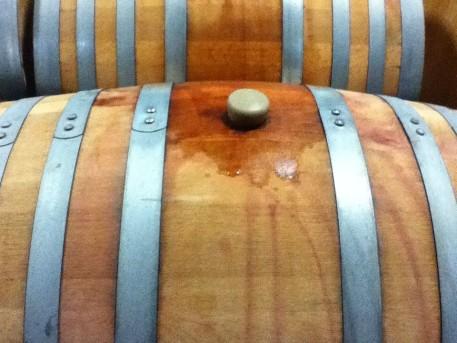 Barrel tasting at Steele Wines