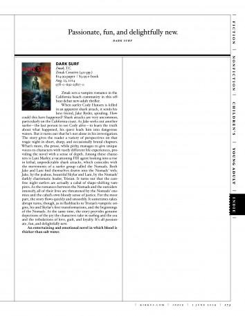 Kirkus Reviews magazine