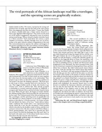 Kirkus Reviews – RISING